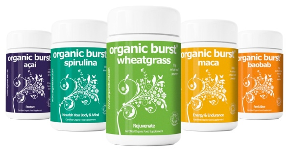 Image of the Organic Burst range