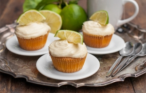 Bergamot Cupcakes with Buttercream Icing