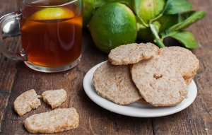Bergamot Spelt Cookies