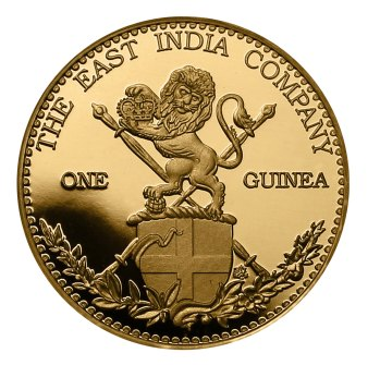 Image of East India Company gold guinea