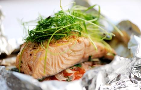 Salmon recipe image