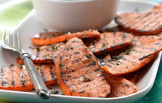 Image of Spiced Sweet Potato Slices recipe