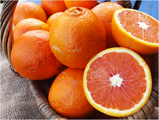 Image of Natoora pink oranges at Ocado
