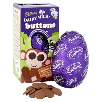 Image of Cadbury Daily Milk Buttons Easter Egg