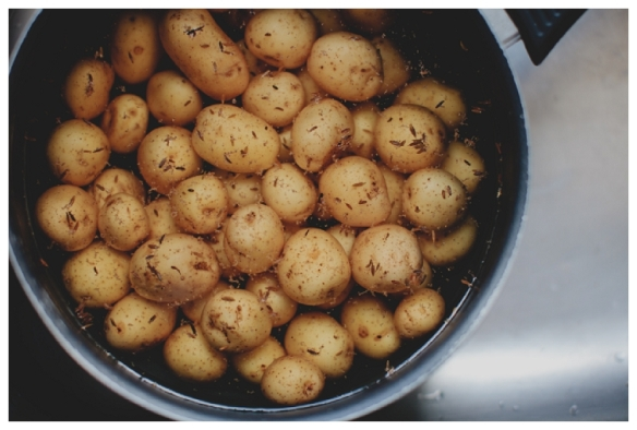 Image of new potatoes by Anja