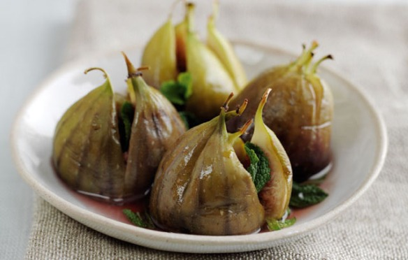 Recipe for Honey Baked Figs