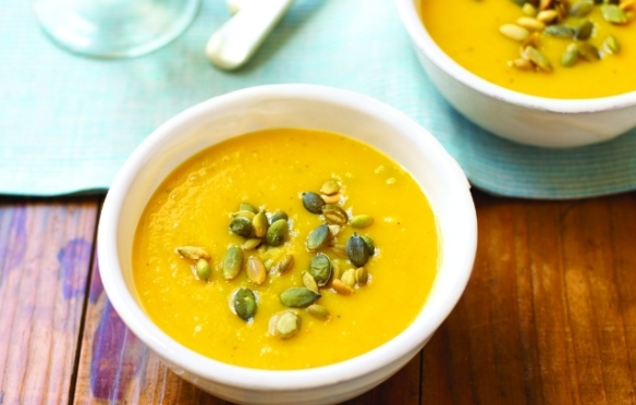 Image of Pumpkin and Apple Soup