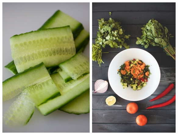Image of fresh ingredients by Anja