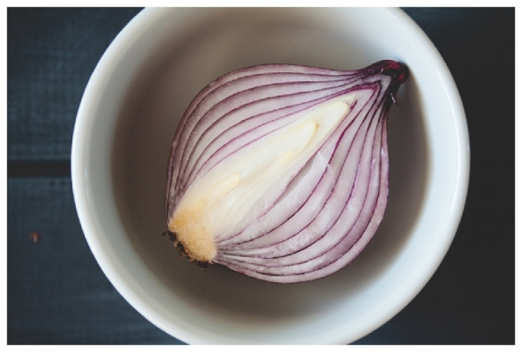 Image of red onion by Anja