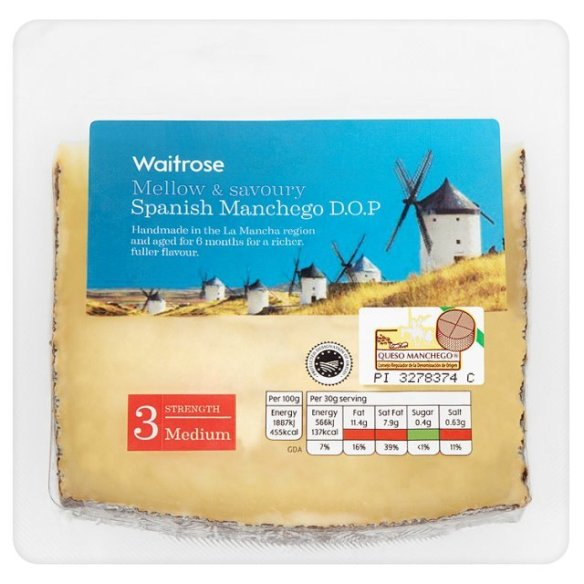 Image of Waitrose Manchego