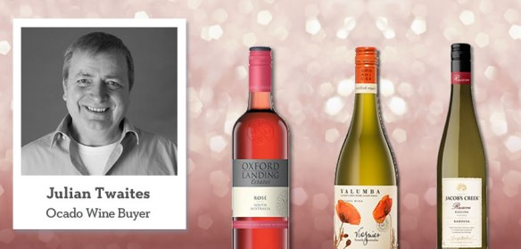 Image of Julian and selected wines