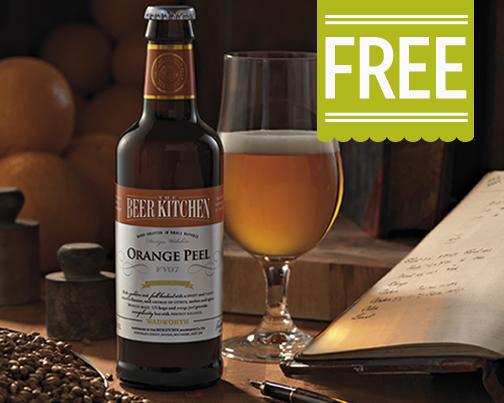 Image of free The Beer Kitchen Orange Peel Ale