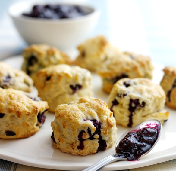 Image of blueberry scones