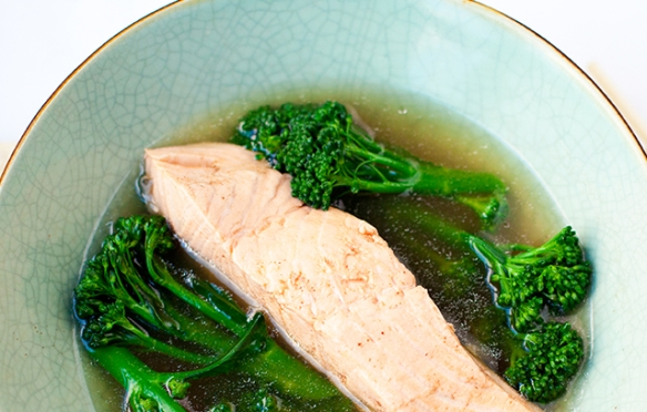 Image of Poached Salmon Fillet recipe