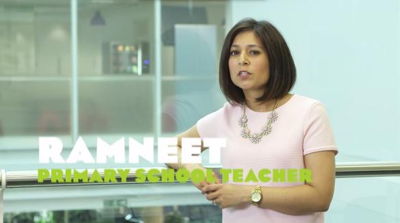 Image of primary school teacher