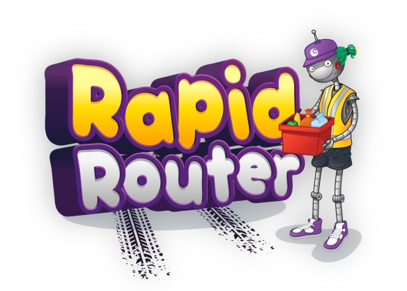 Image of the Rapid Router logo