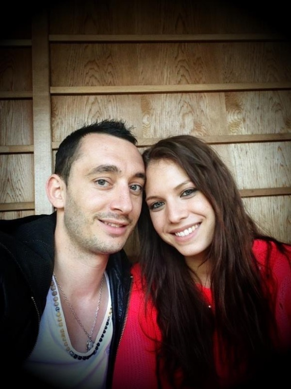 Image of Aurelien and his fiancée