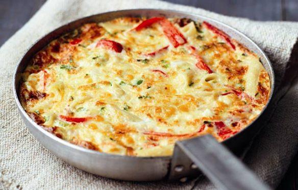 Image of frittata recipe from Ocado