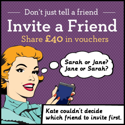 Image of Invite a Friend ad
