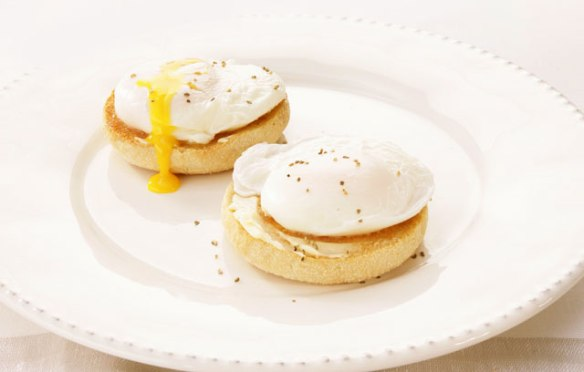 Image of poached eggs from Ocado