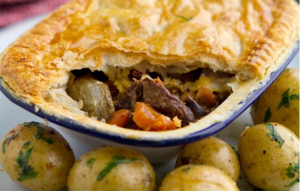 Image for Beef Bourguignon Pie