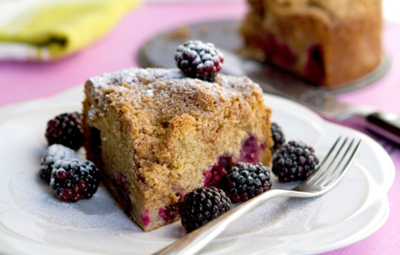 Image of Blackberry Streusel Cake recipe