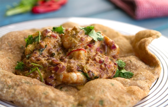 Image of the Prawn Puri recipe