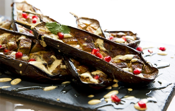 Image of Roast Aubergines