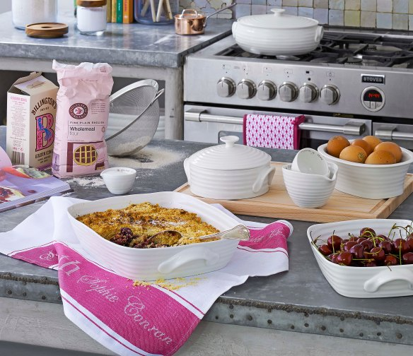 Image of crumble in Sophie Conran ovenproof tableware