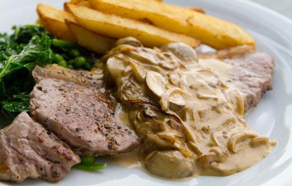 Image of Steak Diane recipe