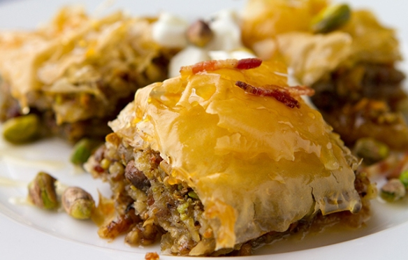 Image of Bacon Baklava