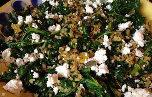 Image of Kale Bulgar Salad