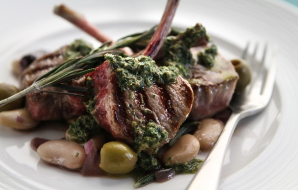 Image of the lamb chops