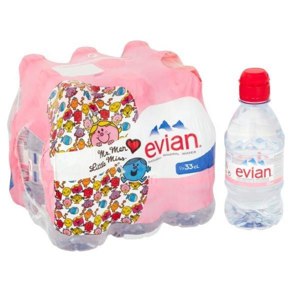 Mr Men Evian water image
