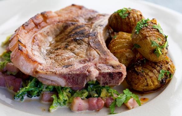 Image of the pork chops