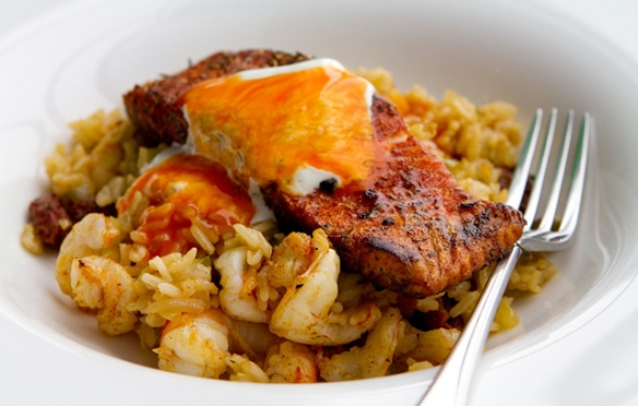 Image of Salmon Jambalaya