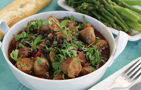 Image of the Sausage and Bean Casserole