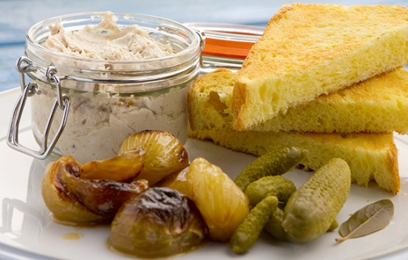 Image of the Smoked Mackerel Pate