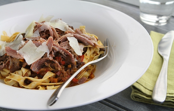 Image of Tagliatelle with Duck