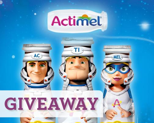 Image of Actimel Kids' giveaway